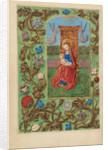 The Virgin and Child Enthroned by Master of the Dresden Prayer Book