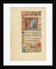 Initial I: Saint Matthew by Master of the Dresden Prayer Book