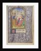 Saint Gatian Preaching by Lieven van Lathem