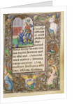 Charles the Bold Presented by Saint George by Lieven van Lathem
