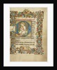 Initial D: The Virgin and Child by Masters of Dirc van Delf