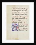Initial C: Saint Nicholas by Master of Gerona