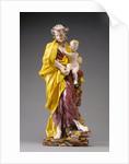 Saint Joseph with the Christ Child by Gennaro Laudato