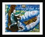Allegory of Charles IX as Mars by Léonard Limosin