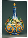 Pilgrim Flask with Marine Scenes (Fiasca da Pellegrino) by Workshop of Orazio Fontana