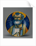 Dish with Saint Peter by Anonymous