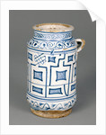 Jar with a Kufic Pattern by Anonymous