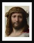 Head of Christ by Correggio