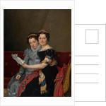 Portrait of the Sisters Zénaïde and Charlotte Bonaparte by Jacques-Louis David