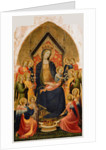 Madonna and Child with Musical Angels by Gherardo Starnina