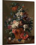 Vase of Flowers by Jan van Huysum