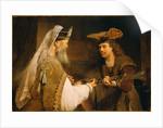 Ahimelech Giving the Sword of Goliath to David by Aert de Gelder