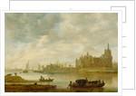 View of the Castle of Wijk at Duurstede by Jan van Goyen