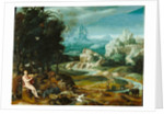 Landscape with Orpheus by Anonymous