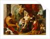 Hercules and Omphale by Luigi Garzi