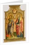 Saints John the Baptist and John the Evangelist by Mariotto di Nardo
