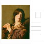 David with His Sword by Salomon de Bray