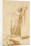 A Monk Carrying a Cross by Follower of Bartolomé Esteban Murillo