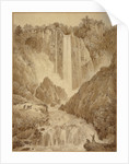 The Cascades at Terni by Louis-Francois Cassas