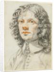 Portrait of a Man (recto), Portrait of a Man (accidental offset) (verso) by Filippo Baldinucci