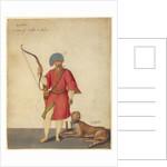 An Azappo Archer with a Cheetah by Jacopo Ligozzi