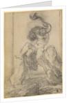 A Marine God with a Dolphin by Gian Lorenzo Bernini