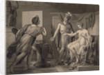 Alexander Ceding Campaspe to Apelles by Jérôme-Martin Langlois