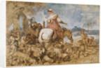 Pastoral Journey by Giovanni Benedetto Castiglione
