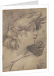 Bust of an Angel by Hendrick Goltzius