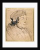 Portrait of a Scholar or Cleric by Hans Holbein the Younger