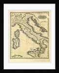 Map of Italy by Anonymous