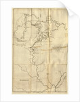 Map the Upper Mississippi to Itasca Lake, the actual source of this river, 1832, etc by Anonymous