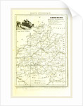 France pittoresque, map Dordogne by Anonymous