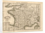 France pittoresque, map of France by Anonymous
