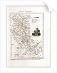 France pittoresque, map, Loire by Anonymous