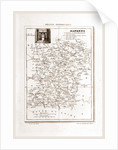 France pittoresque, map Mayenne by Anonymous