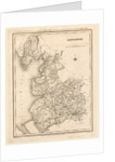 A Topographical Dictionary of England, Lancashire, map by Anonymous