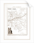 France pittoresque, map, Indre and Loire by Anonymous