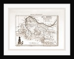 France pittoresque, Rhone, map by Anonymous