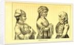 1822 till 1828, Nogaijen-Tartaren, Tatarinnen by Anonymous