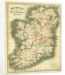 Map of Ireland, he Miseries and Beauties of Ireland by Anonymous