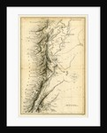 Map of Syria, 1837 by Anonymous
