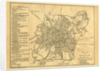 Map of Moscow, Russia by Anonymous