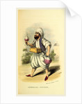 Sherbet seller, Damascus and Palmyra, a journey to the East by W. M. Thackeray