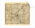 Histoire physique, civile et morale des environs de Paris, map by Anonymous
