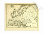 Mitchell's Atlas of outline maps, Europe by Anonymous