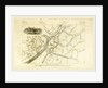 Map, Mancuniensis or an history of the town of Manchester and Salford by Anonymous
