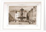 Fontaine de la Place Louvois, Paris and surroundings by M. C. Philipon