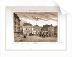 Palais Royal, Paris and surroundings by M. C. Philipon