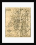 Map, Biblical Researches in Palestine, Mount Sinai by Anonymous